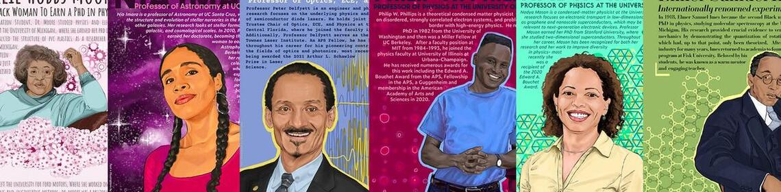 Poster series honors influential Black physicists