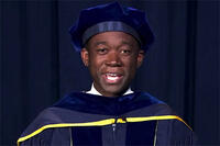 Wally Adeyemo speaks at graduation 2021