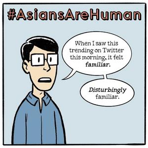 Gene Yang's Instagram comic avatar